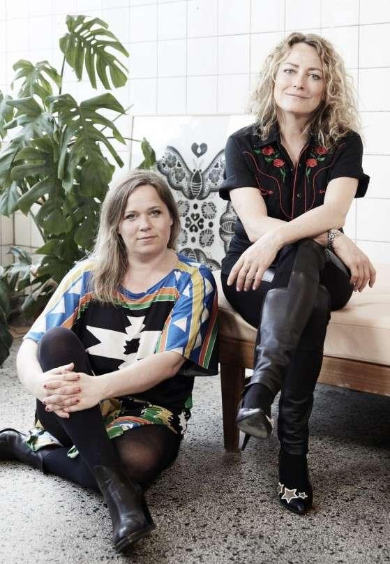 Lisa Grue og Maise Njor.