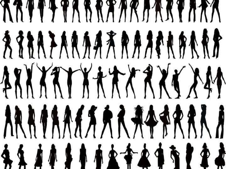 den perfekte krop gennem tiden